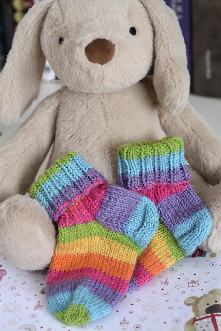 Kate Atherley Baby Socks