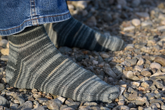 Basic Sock Pattern in 6 Sizes