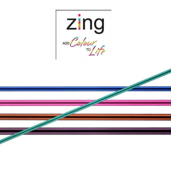 Knit Pro Zing 15cm Double Pointed Needles