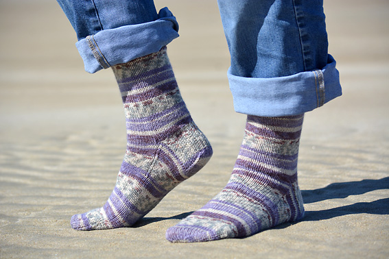Wandering Sock Lettergesh Beach