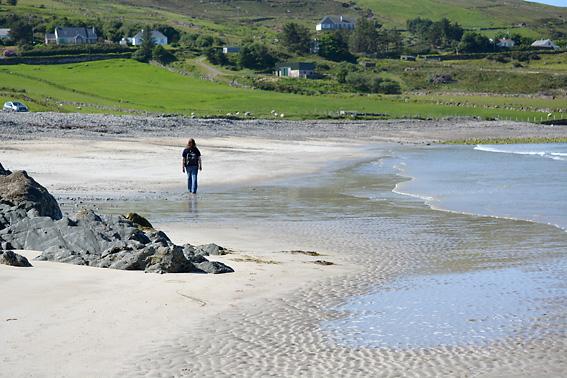 Wandering Sock Lettergesh Beach