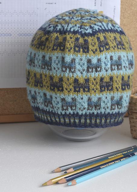 A Shetland Colour Story Crofthoose Hat