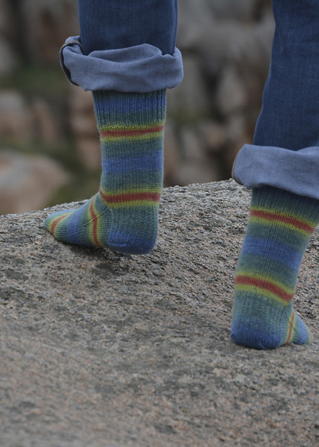 Little Yellow Daisy Socks