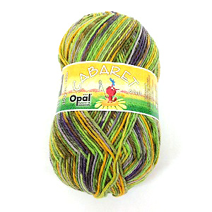Opal Cabaret 6ply Sock Yarn 9233 Transformation
