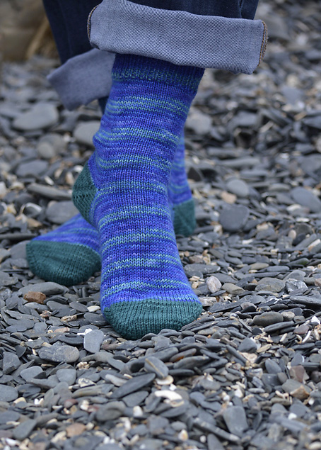 Neptune's Ocean Socks