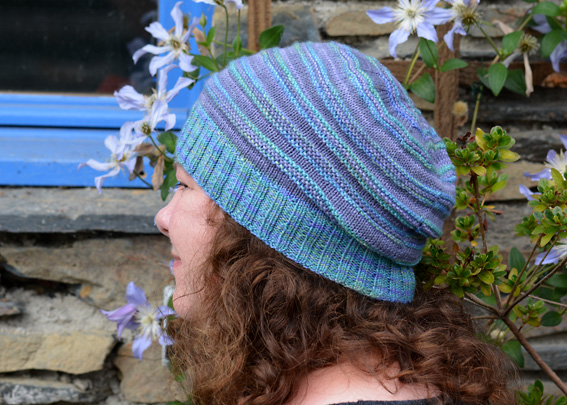 Rippling Purples Hat