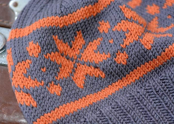 Knitting Pattern For Norwegian Hat : Norwegian Star Hat - Knitting Squirrel