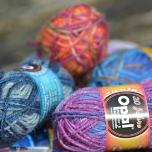Opal Mini Sock Yarn Balls