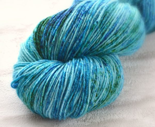 Baltic Bliss Hand Dyed Opal Sock Yarn