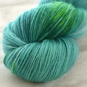 Malachite Medley Hand Dyed Opal Sock Yarn