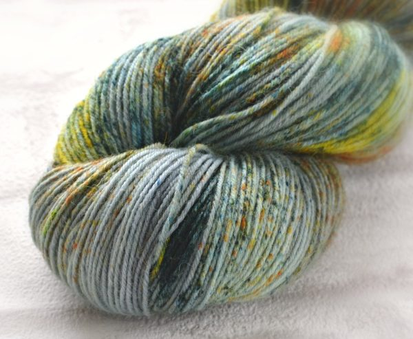 Mountain Sward Hand Dyed Opal Sock Yarn