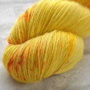 Sunburst Hand Dyed Opal Sock Yarn