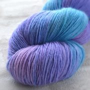 Wisteria Whisper Hand Dyed Opal Sock Yarn