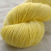 Yummy Yellow Hand Dyed Opal Sock Yarn