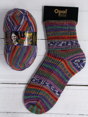 Opal My Sock Design 9371 Inca