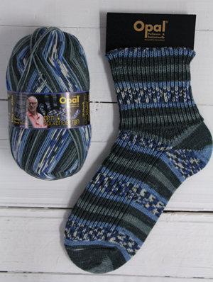 Opal My Sock Design 9374 Baltic Beach