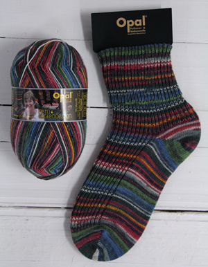 Opal My Sock Design 9377 Railroad Romance