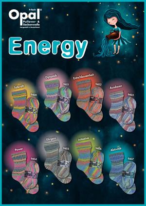 Opal Energy 4ply Sock Yarn